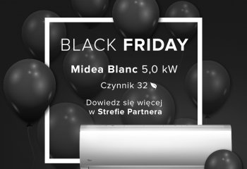 Black friday - Midea Blanc 5,0 kW
