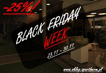 Black week w sklepie Spartherm