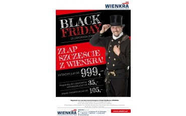 Black Friday w WIENKRA