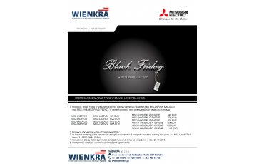 Mitsubishi Electric w Black Friday | WIENKRA