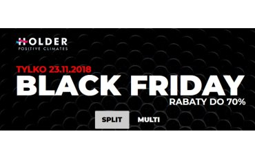 Blac Friday w Holder - rabaty do 70%