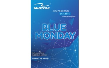 Spędź Blue Monday z Iglotech!