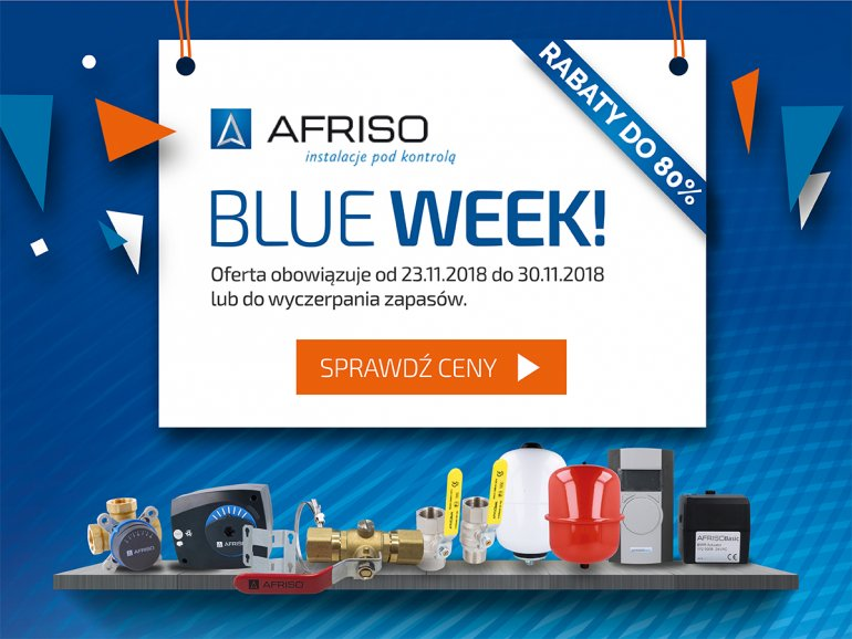 Afriso Blue Week