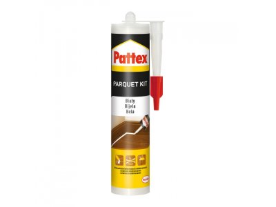 Kit do parkietu Pattex Sealant 280 ml biały